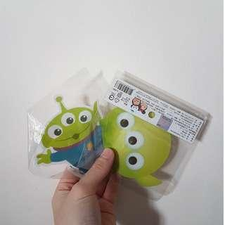 Toy Story Alien and Pikachu Stickers!