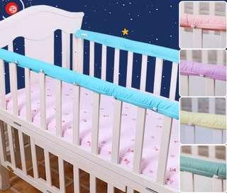 🚚 Baby cot rail bumper (padded)- Ready stock