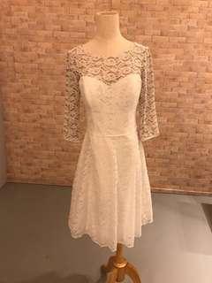 US Brand Wtoo White lace ROM Dress