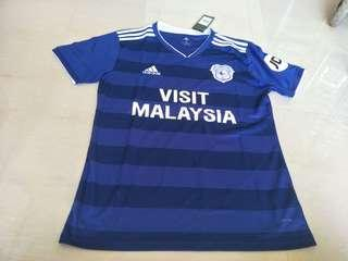 Cardiff City 18-19 Home Short Sleeve Kit