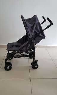 Peg perego pliko mini umbrella stroller (denim desgin)