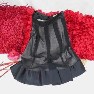 Authentic MAX & CO. Black Silk Skirt Pink Skirt