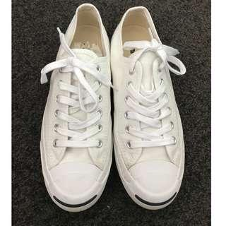 CONVERSE Jack Purcell Unisex Sneakers White size 7