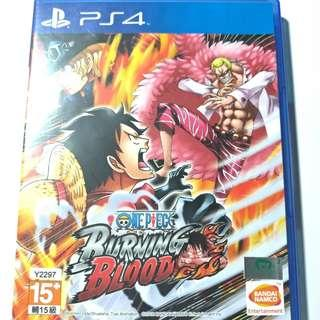 Ps4遊戲 onepiece
