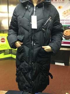 羽絨外套 棉質外套 長身外套
