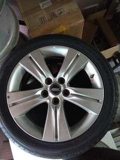 """17"""" tyres & rims"""