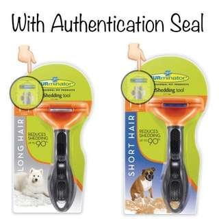 100% Authentic Brand New FURminator Long Hair deShedding Rake Brush Tool for Dogs, Medium