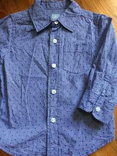 BabyGap long sleeve shirt boys 2 yrs