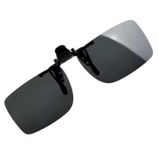 5b2f17a9d8 Anti-UVA UVB Clip On Sunglasses Polarized Sun Glasses Driving Night Vision  Lens