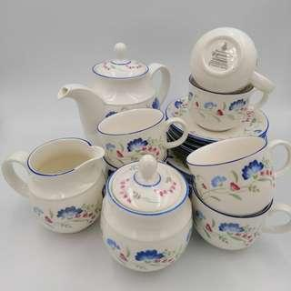 Royal Doulton Expressions Windermere Tea Set