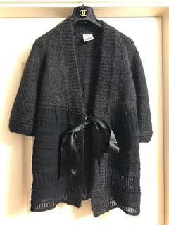 Chanel cashmere cardigan used Sz 40