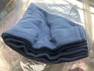 浅灰蓝 深蓝色 抓绒被 50一条