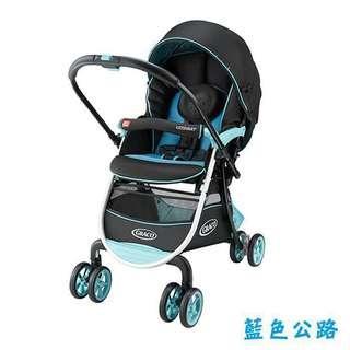 二手 Graco 購物型雙向嬰幼兒手推車豪華休旅
