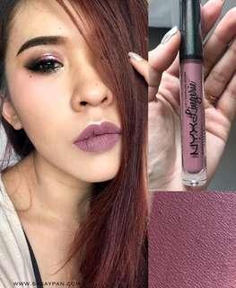 authentic Nyx Lingerie liquid lipstick