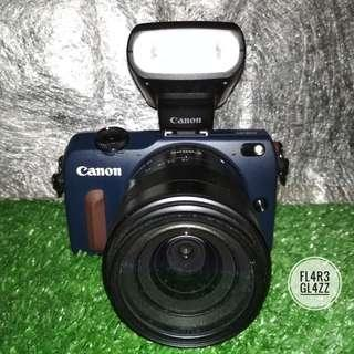 Ready Guyss !!! Canon Eos M2 18-55 Blue WIFI Fullset Superr Mulusss