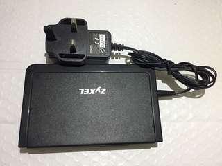 ZyXEL 5位 switch 10/100