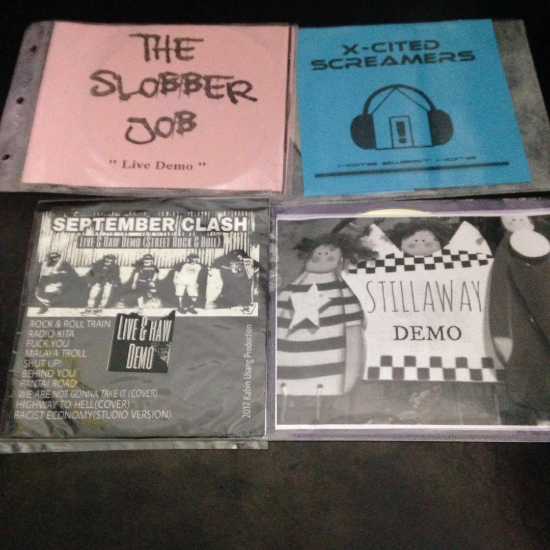 16 pcs Local Underground Demos