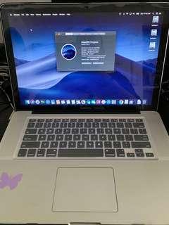 MacBook Pro 15inch i7 2.6 Ghz, 8GB Ram , 750HD