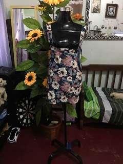Jumper skirt floral