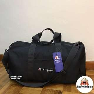 [BNWT, AUTHENTIC] Champion Boston Duffel Bag with Sling Strap