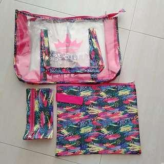 Set of bags for girls