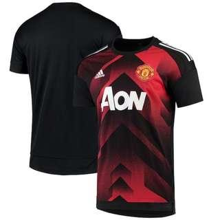 Men's adidas Red Manchester United 2017/18 Training Jersey