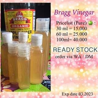 SHARE IN BOTTLE 🍏 BRAGG VINEGAR