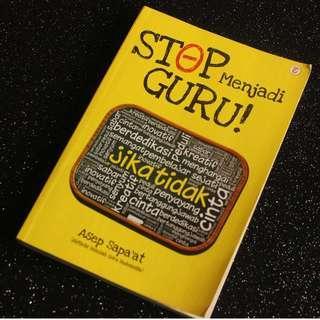 Murah - Buku bekas / Buku Psikologi - Stop Menjadi Guru!