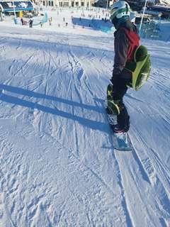 滑雪護臀 護膝 烏龜 全新
