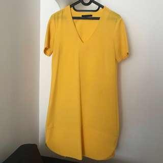 Marks & Spencer Yellow Canary Dress