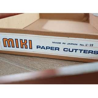 MIKI paper cutter for sale URGENT