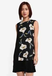 BNWT Zalora Colourblock Midi Dress