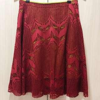 The Island Shop - Red Skirt