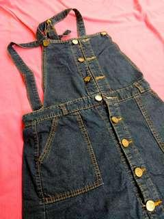 Overall denim size S