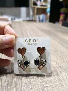 韓國耳環, 心心耳環