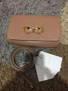 Authentic Ted Baker leather two way bag