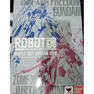 Bandai Tamashii Robot魂 Freedom 特典 貼紙