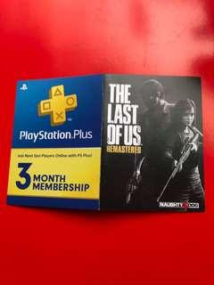 The last of us + 3 month plus