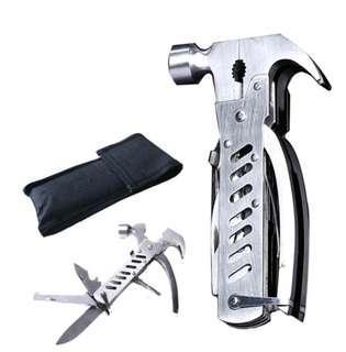 Multifunction foldable hammer plier