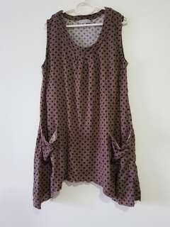 Polkadot Top Dress (XL)