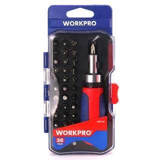 WORKPRO Obeng Set Reparasi 38 in 1 - W021182