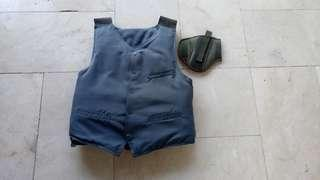 Bullet Proof Vest With Free Holster