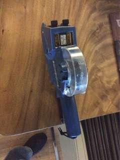 Price tag machine