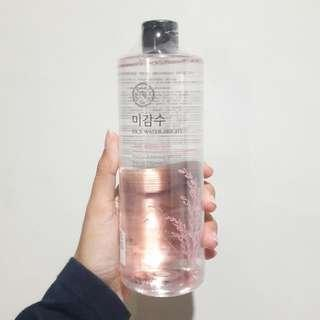 REPRICE The Face Shop Rice Bright Mild Cleansing Water 500ml