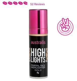 #FathersDay35 Australis mineral liquid highlighter in Gold