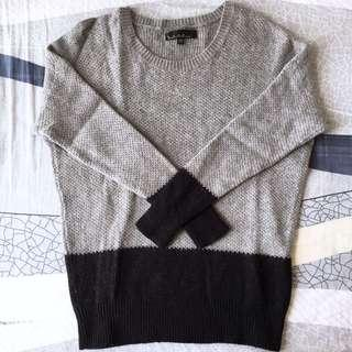 b+ab Black & Grey Sweater 黑灰冷衫/毛衣