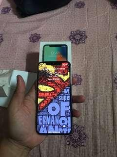 Iphone X 256GB Silver Garansi