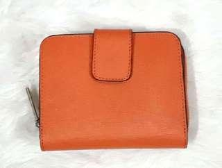 AUTHENTIC COACH WALLET IN SAFFIANO LEATHER - SOLD AS IS