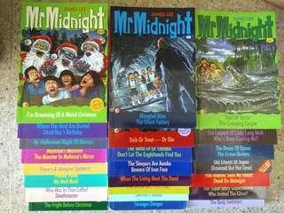 Children story books - Mr Midnight, Geronimo Stilton & Ronald Dahl