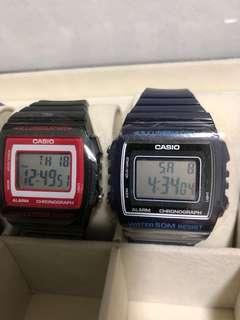 Casio W215H watch